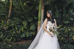 Tiffany |. Morgan cape veil